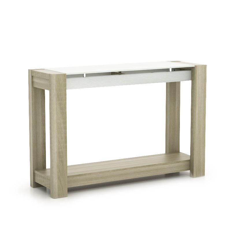 JYSK Console Table Fjord 120X35X80Cm Manhattan Oak
