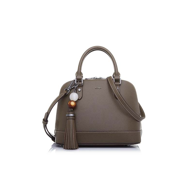 Bonia Satchel Bag  Zoey - Bronze