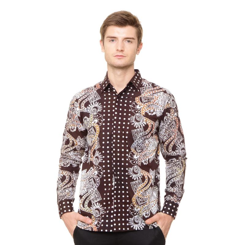 Agrapana Batik Lengan Panjang 105.02.853.0.1.K11.Coklat