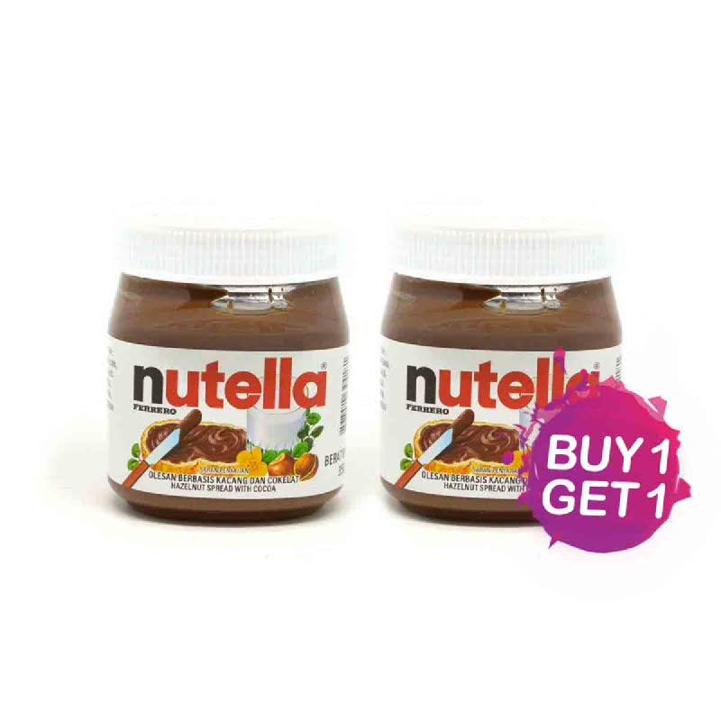 Nutella Selai Coklat T350 Gr (Buy 1 Get 1)