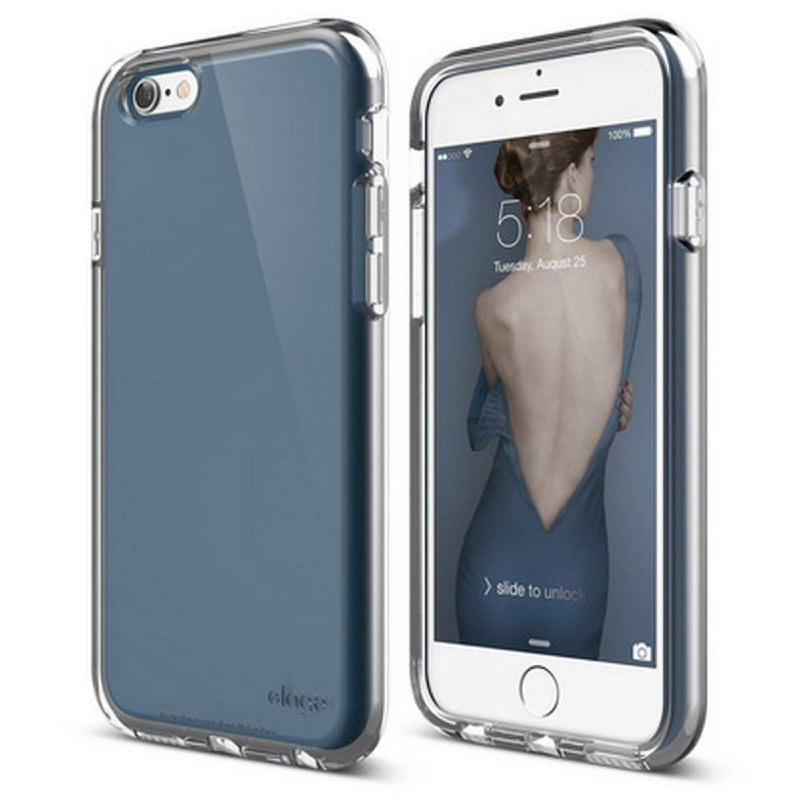 Elago Core Flex Case for iPhone 6, 6S - Jean Indigo