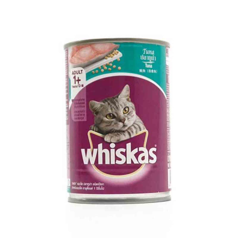 Whiskas Tuna 400Gr per Canned
