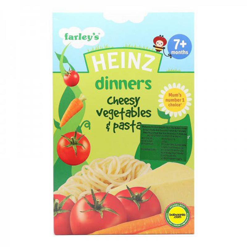 Heinz Dinner Cheesy Vegetables & Pasta 1