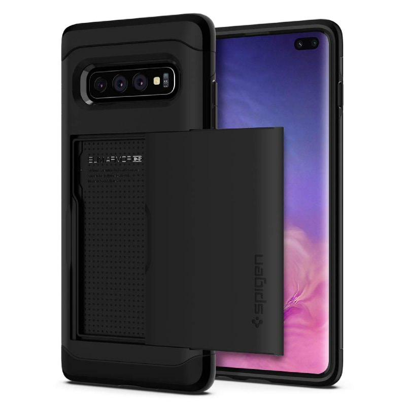 Spigen Galaxy S10+ Case Slim Armor CS - Black