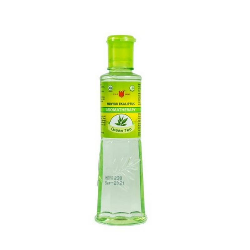 Cap Lang Minyak Ecaliptus Green Tea 60 ml