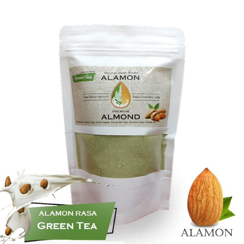 Alamon Milk Rasa Greentea