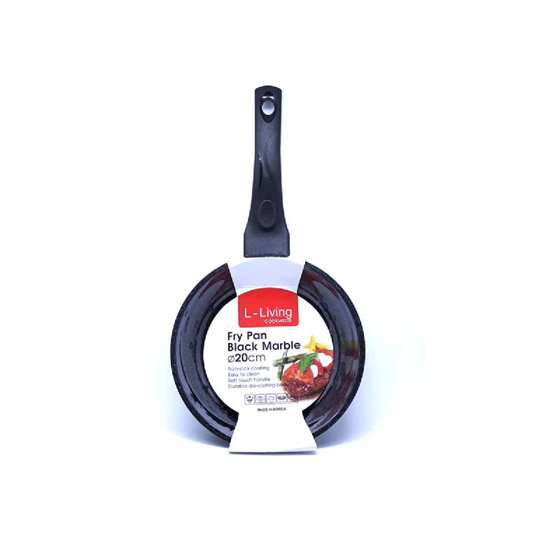 L-LIVING FRYPAN MARBLE 20CM