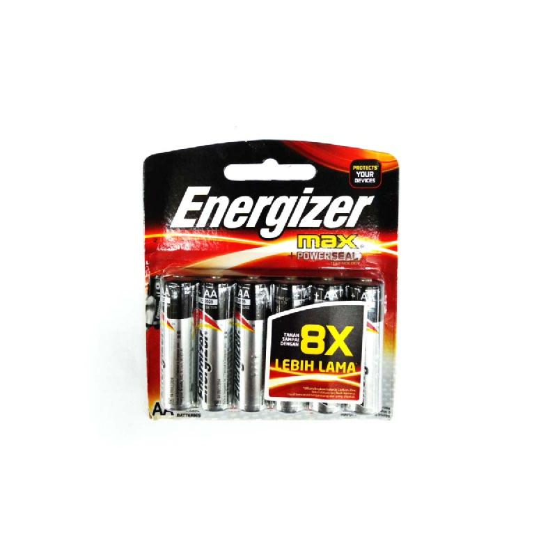 Energizer Baterai E91 BP6 AA
