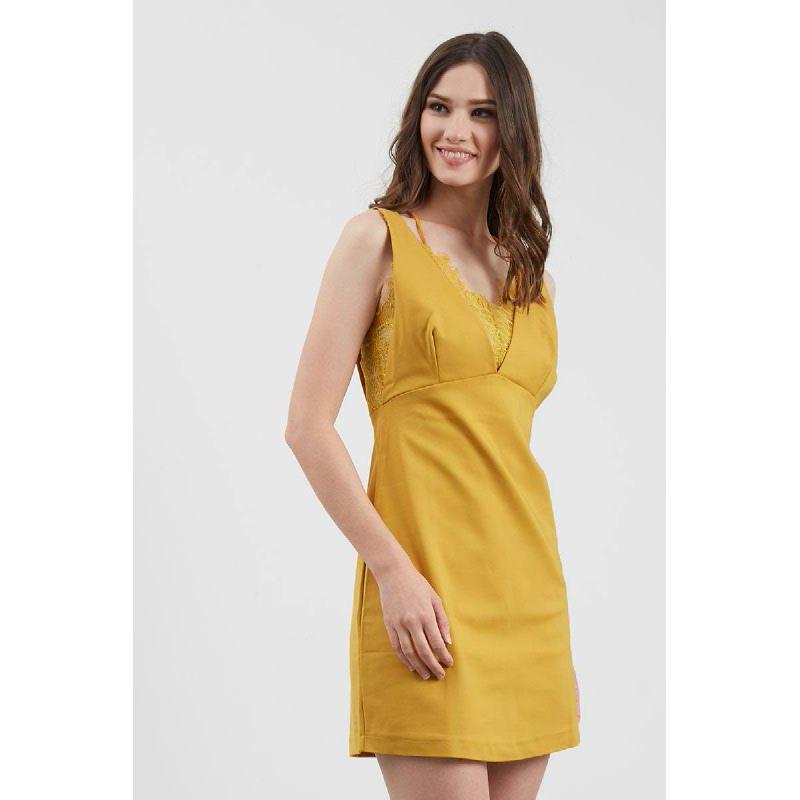 GW Grafen Dress in Mustard