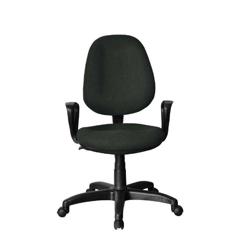 HighPoint Kursi kerja kursi kantor BK Series - BK26 Dark Gray