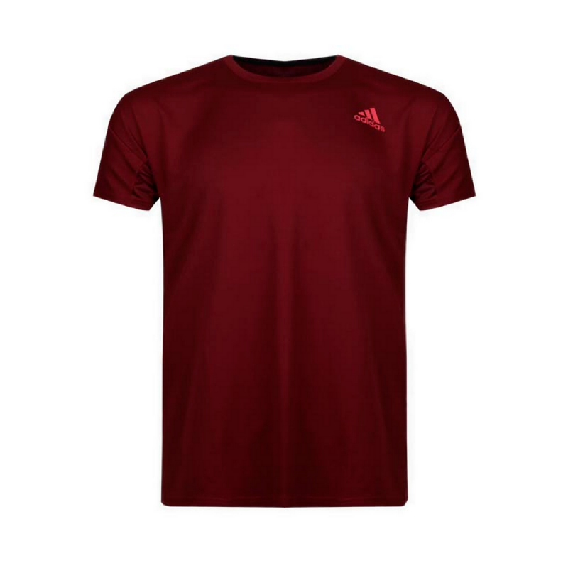 Adidas Badminton Tagline Men Tee - Purple