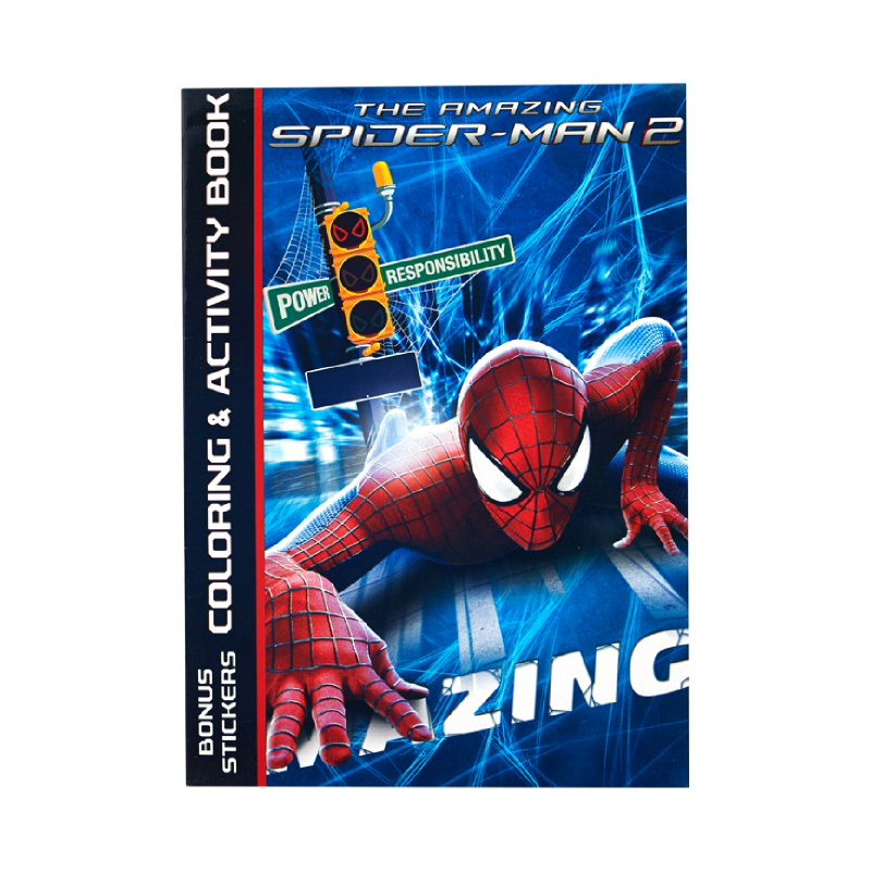 Coloring Book Amazing Spider-Man 2Power Responsibility