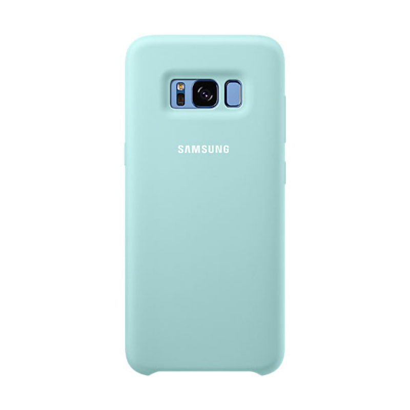 Samsung Silicone Cover For Galaxy S8 - Biru