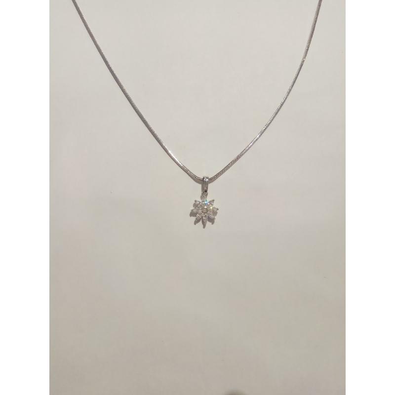 Ballin - Women Necklace FF N0065S Silver