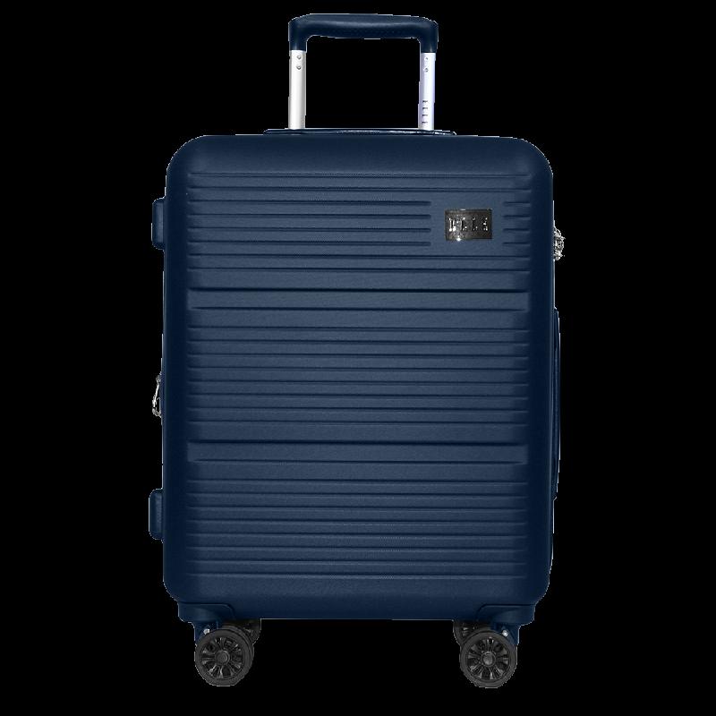 Elle Luggage Hardcase size 20 inch 4 Wheels TSA Lock Anti Theft Blue