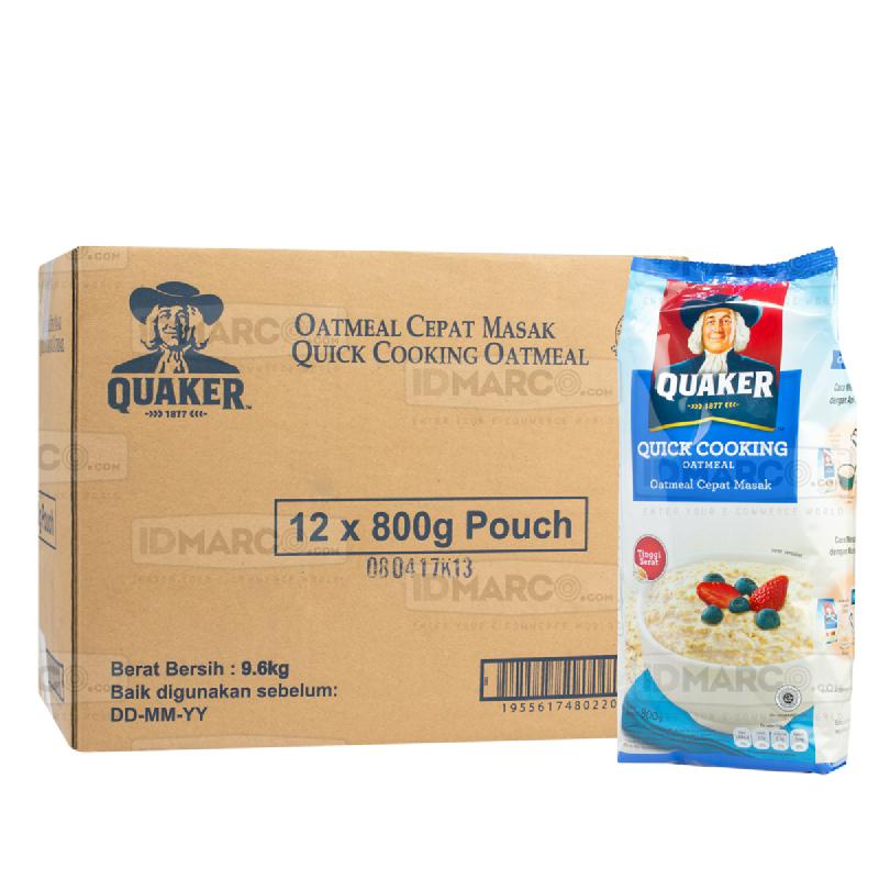 Quaker Cooking Oats 800 gr Refill