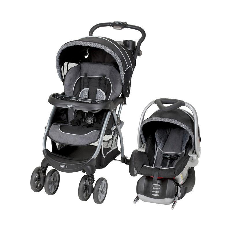 Babytrend Encore Lite Travel System Black - Grey