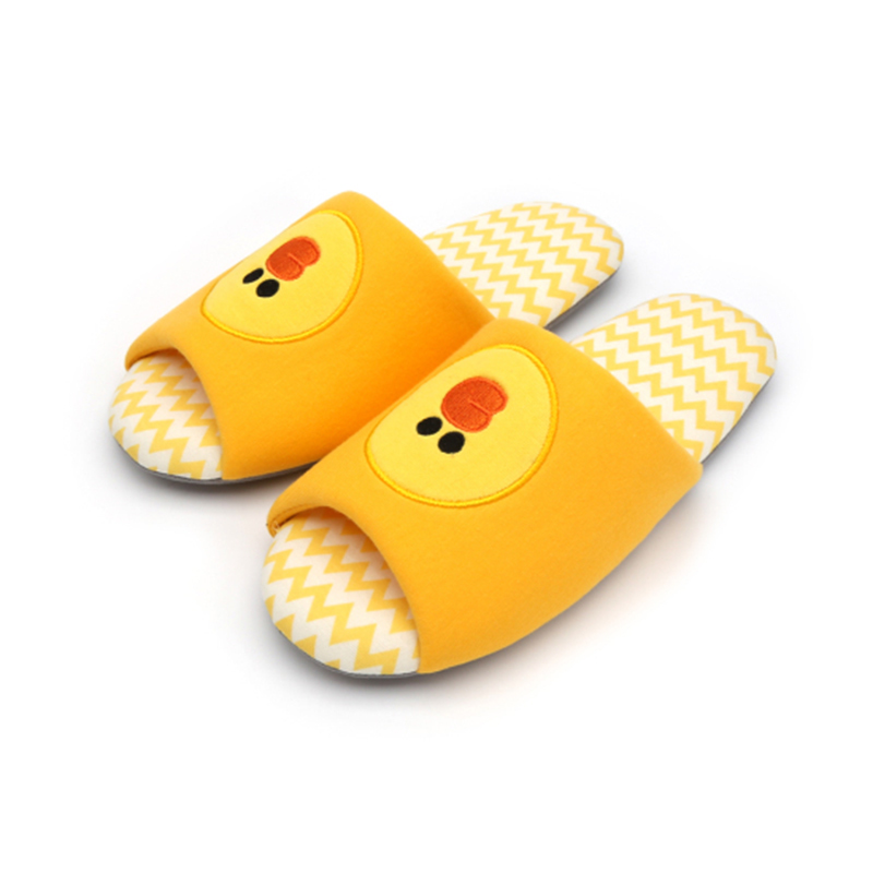 Line Pattern Indoor Slippers - Sally