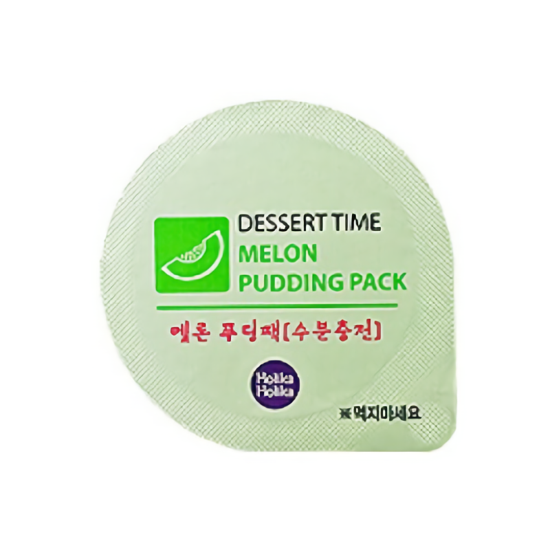 Dessert Time Melon Puding Pack (Moisturizing)