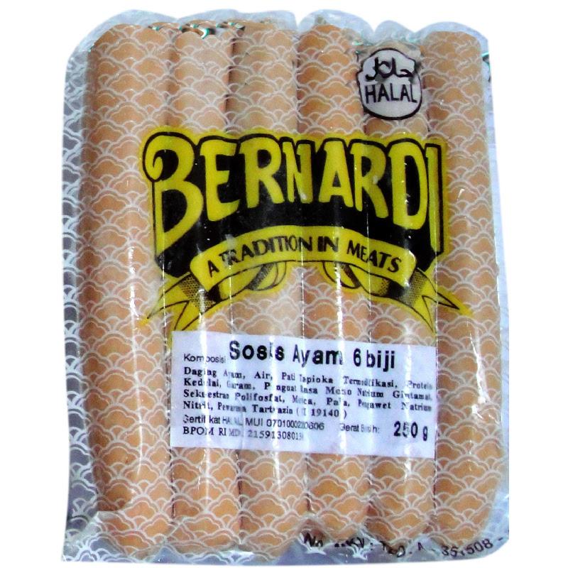 Bernardi Sosis Ayam isi 6 Pcs