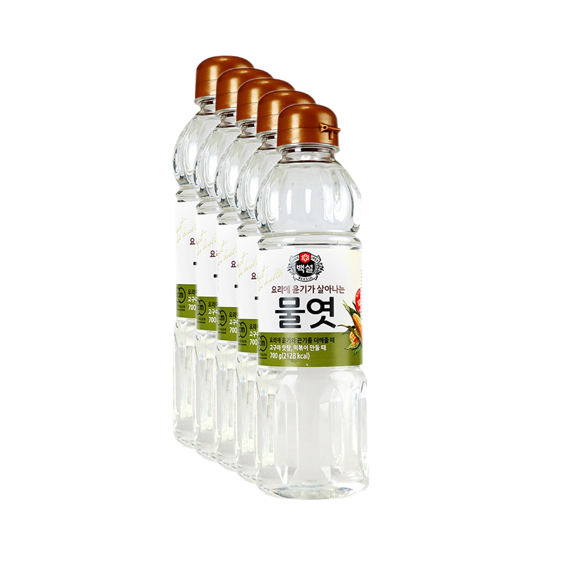 CJ - Mulyot Sirup Jagung 700 ml 5 Pcs