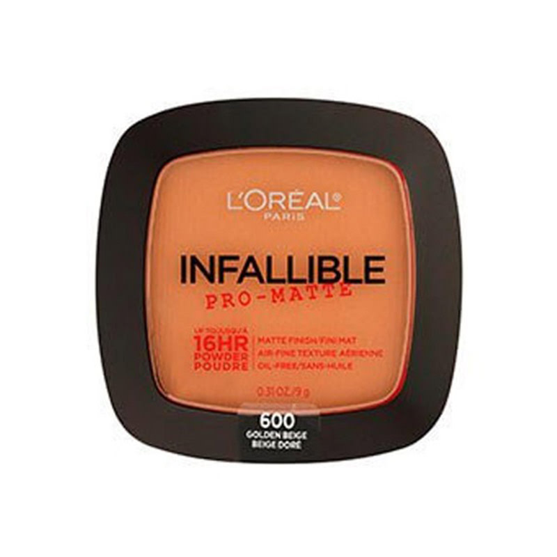 Loreal Face Powder Infallible Pro-Matte 16Hr - 600 Golden Beige