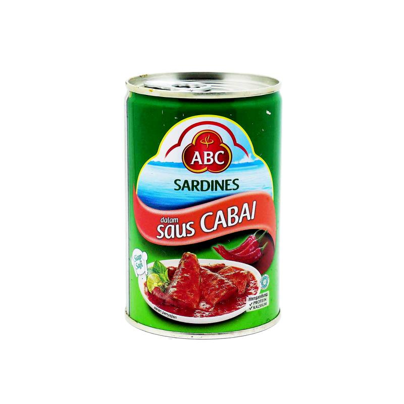 ABC SARDINE CHILLI 425 GRAM