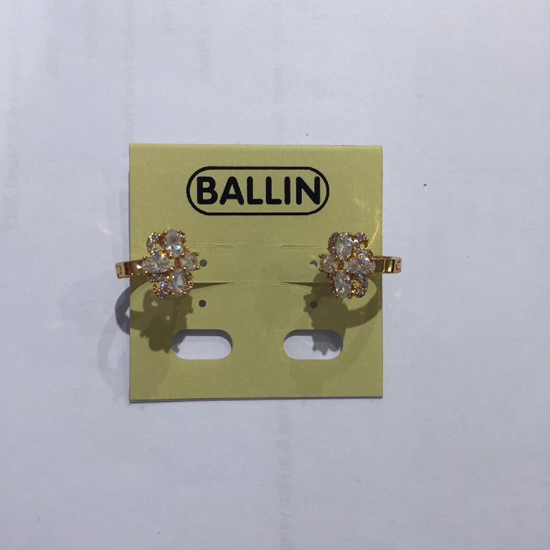 Ballin Women Earing Flower FF-E0111G Gold