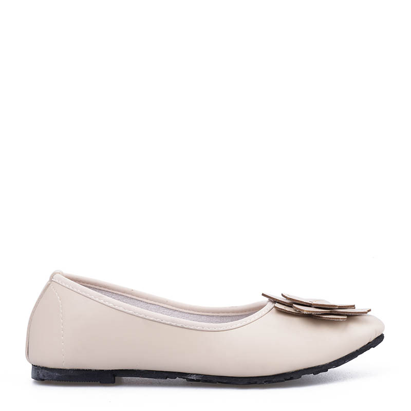 Anyolorich Flat Shoes BL03-Cream