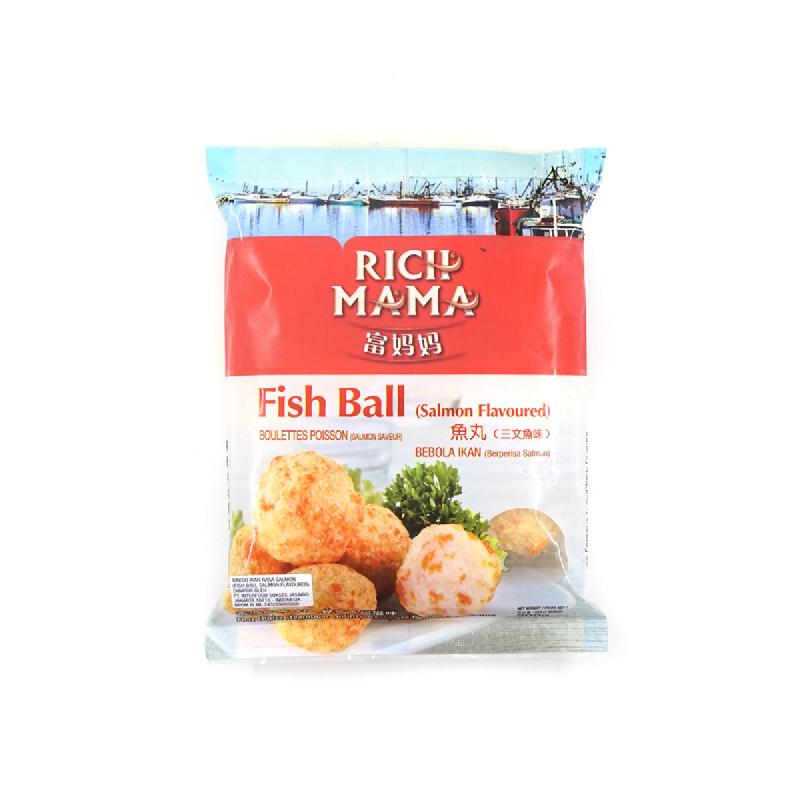 Rich Mama Tahu Ikan Isi Keju 250 Gr