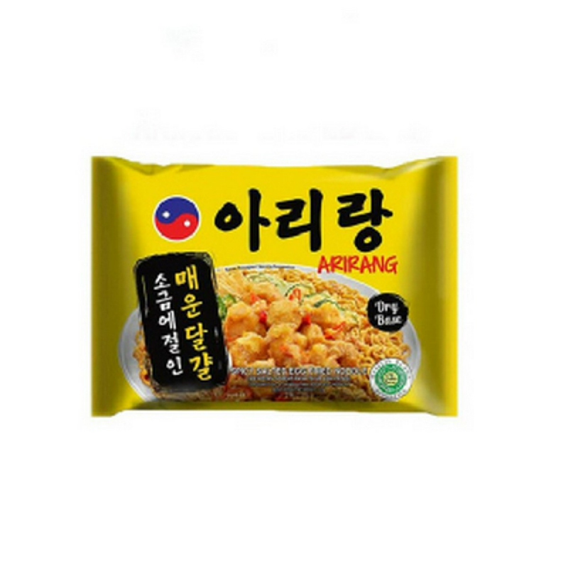 Arirang Mie Instant Mie Salted 125 Gr