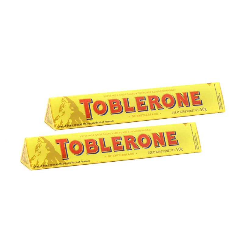 Toblerone Milk 50 Gr (Buy 1 Get 1)