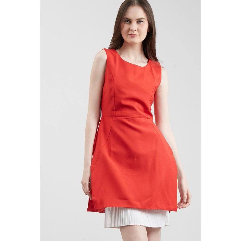GW Gerby Dress in Red