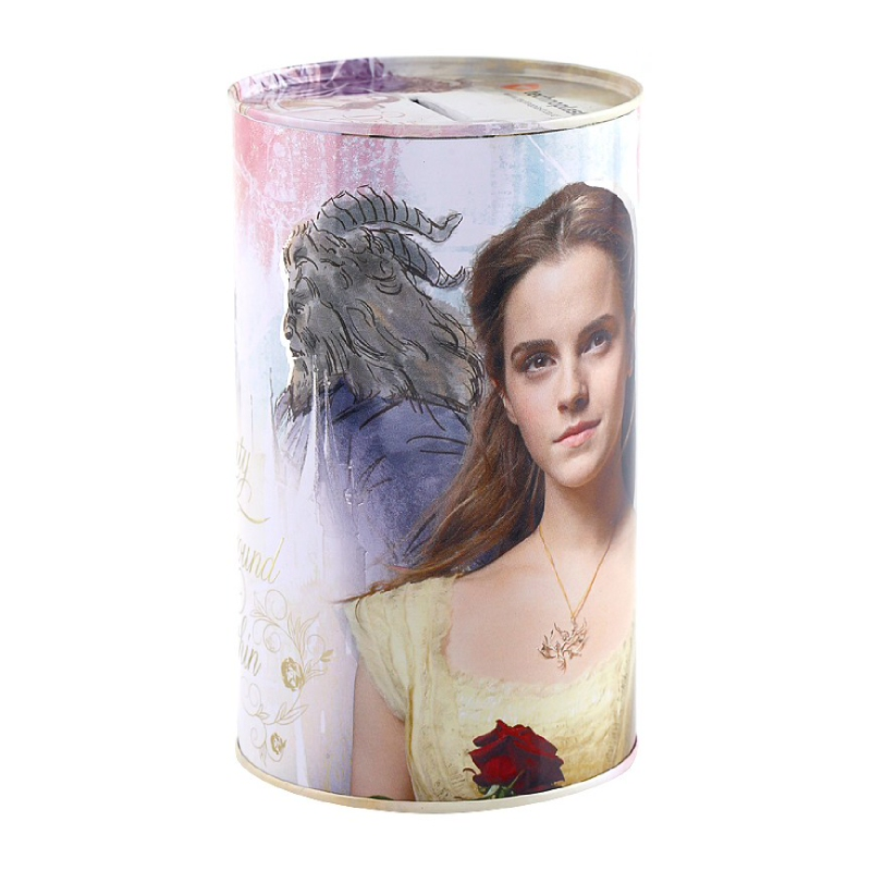 Princess Tin Can Beauty And The Beast 83X140Mm Style 3