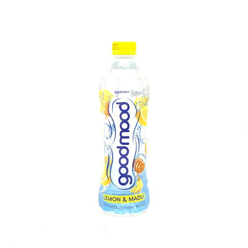 Good Mood Minuman Ekstrak Lemon & Madu 500 Ml