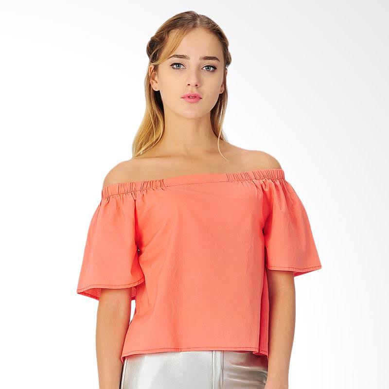 Hamsen Women's Blouse - Orange