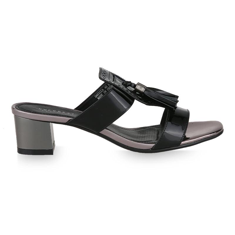 Everbest Sandal Hak Tinggi Danicca Hitam