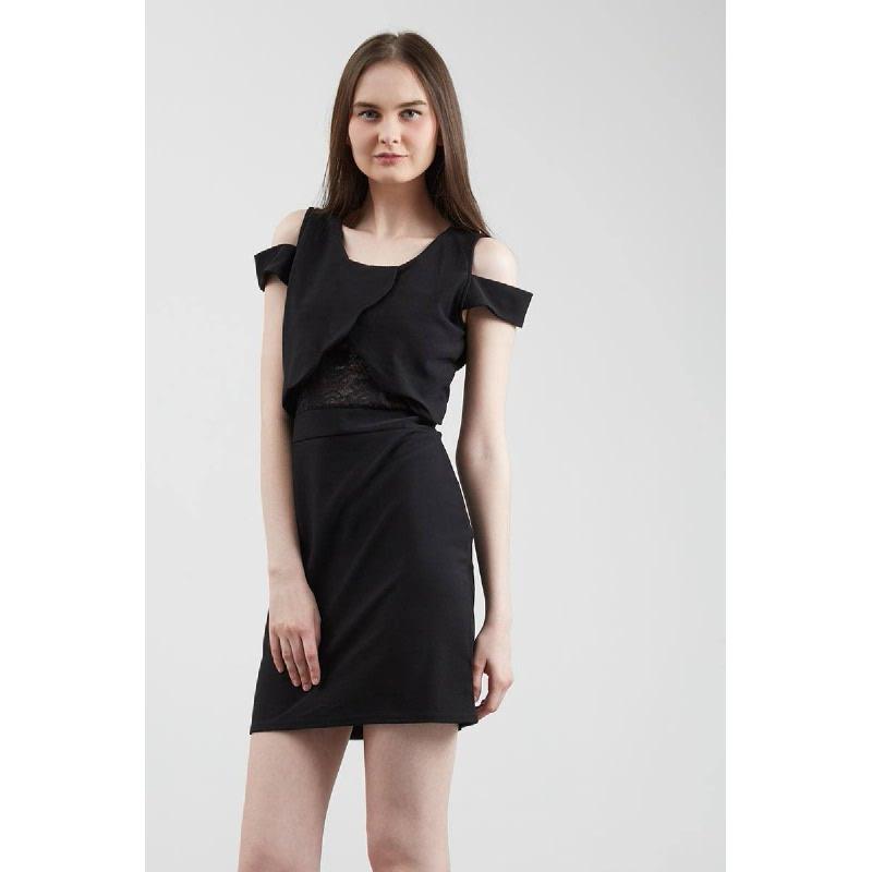 Francois Staufen Dress in Black