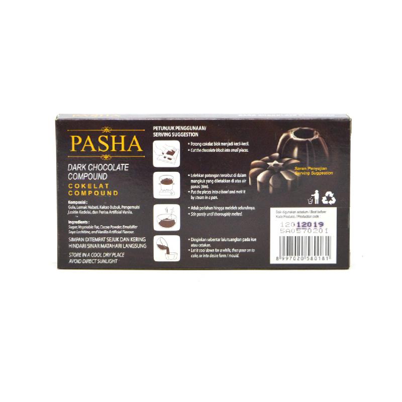 Pasha Dark Chocolate Compound 250G
