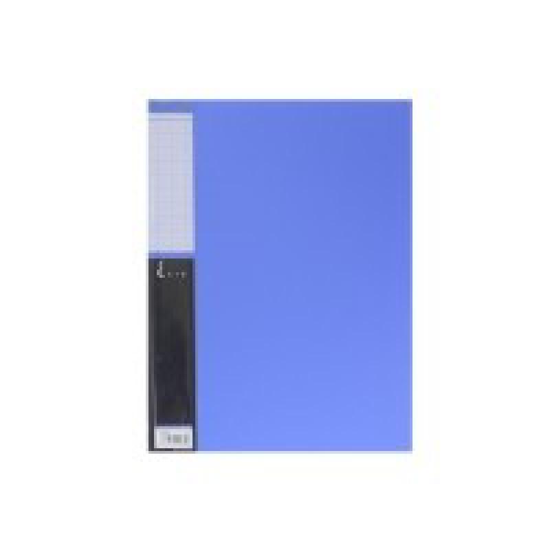 CLEAR FILE 20 POCKETS A4 5136 BLUE KING JIM