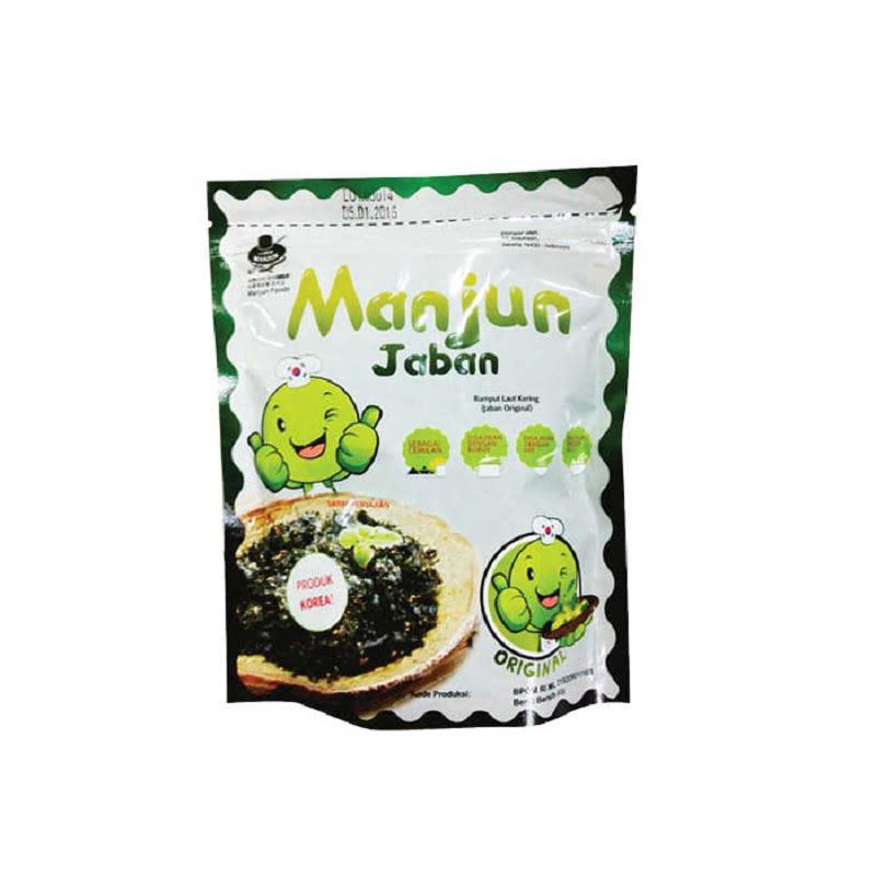 Manjun Seaweed Jaban Original 60 Gr