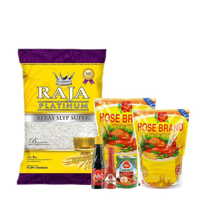 Paket Lotte Mart Rp. 125.000 (Dapat 6 Produk)