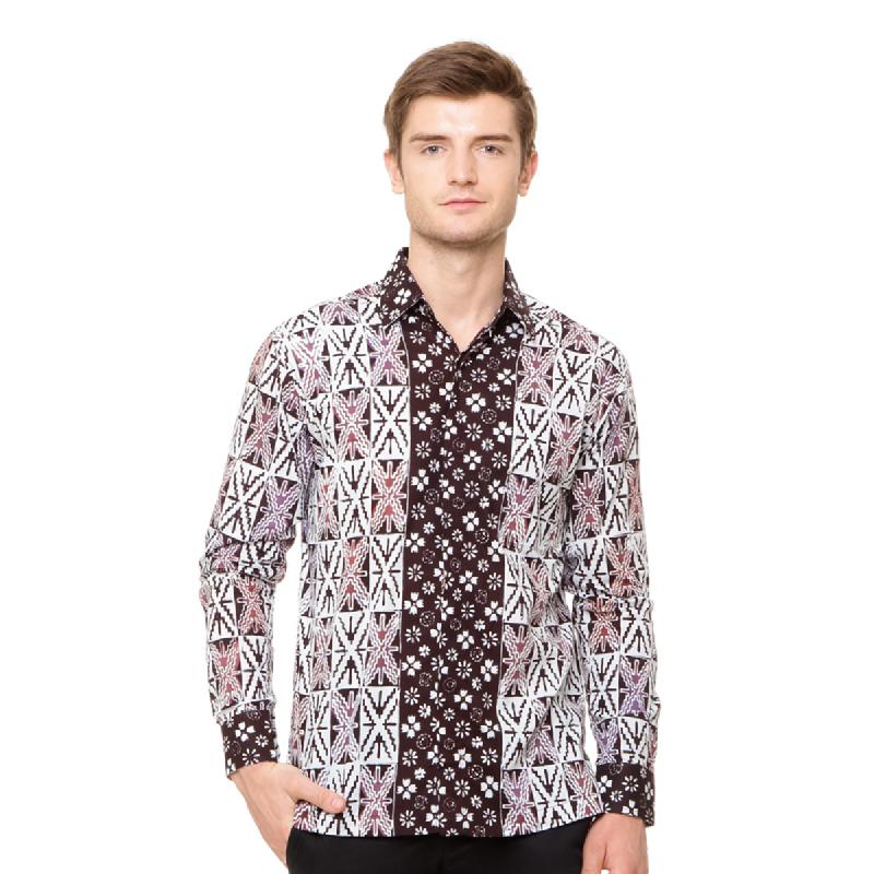 Agrapana Batik Lengan Panjang 105.02.853.0.1.J10.Coklat