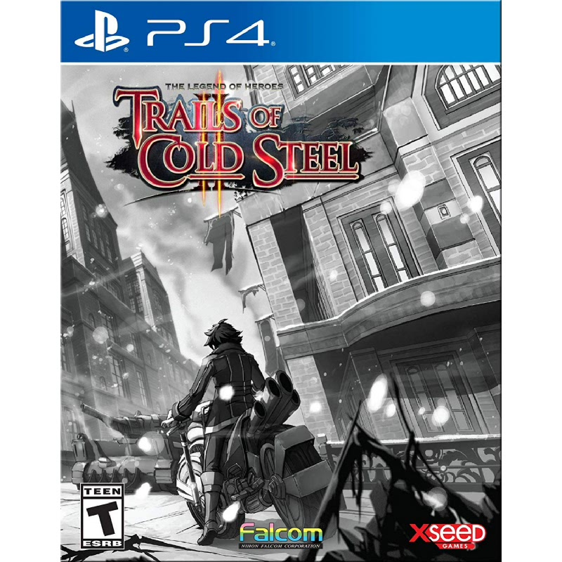 PS4 The Legend of Heroes Trails of Cold Steel II Relentless Edition Reg All