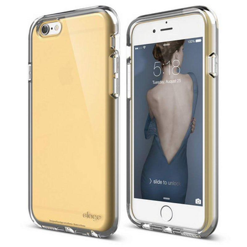 Elago Core Flex Case for iPhone 6, 6S - Creamy Yellow