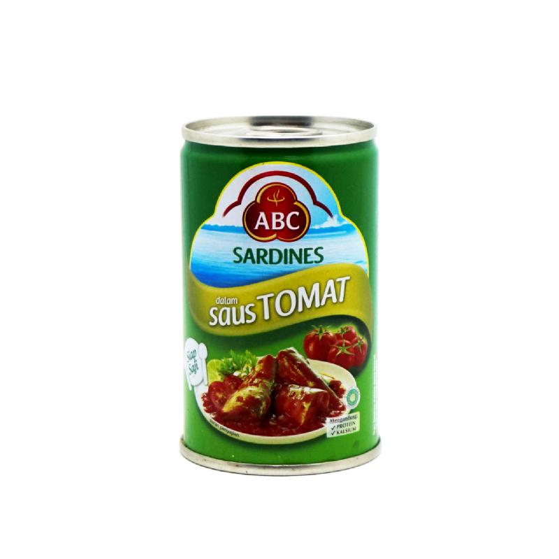Abc Sardine Tomato 155 Gram