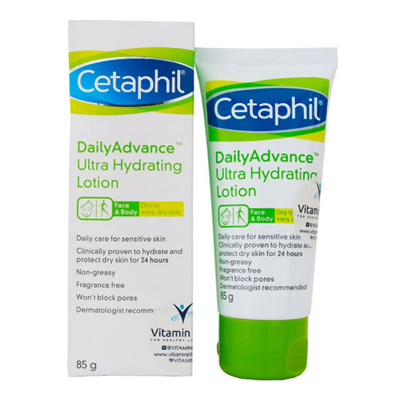 Cetaphil Daily Advance Ultra Hydrating Lotion Tube 85 g
