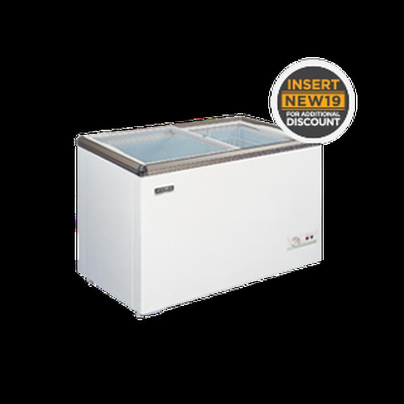 Modena Sliding Glass Freezer MC-0420
