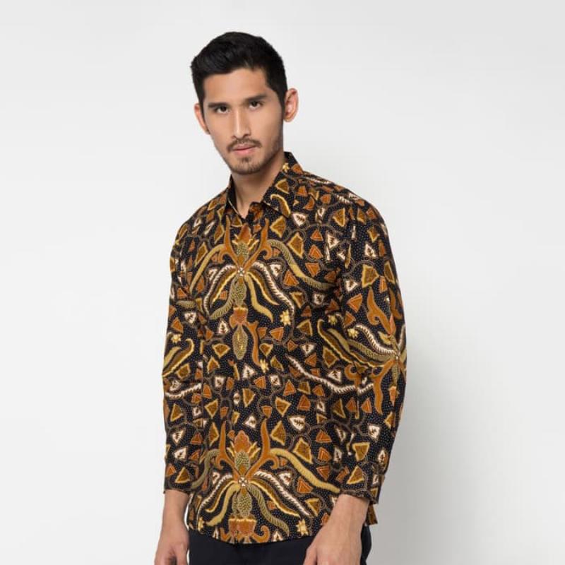 Asana Batik Long Sleeve LS0771LBR