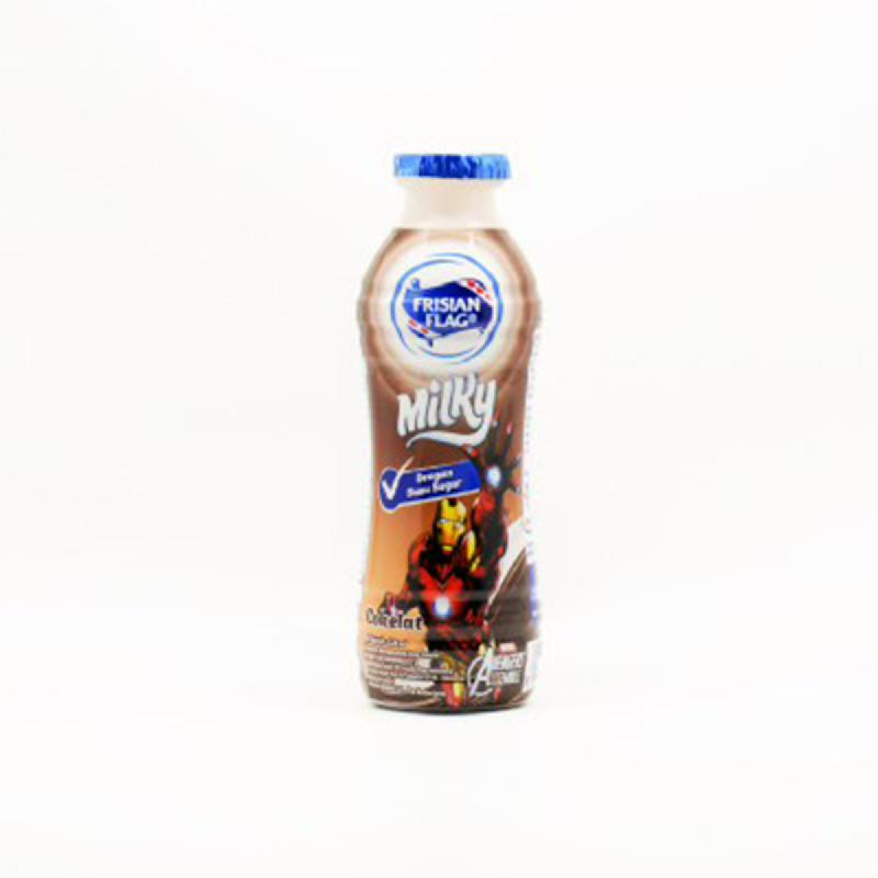 Bendera Milky Cair Coklat Btl 120ml